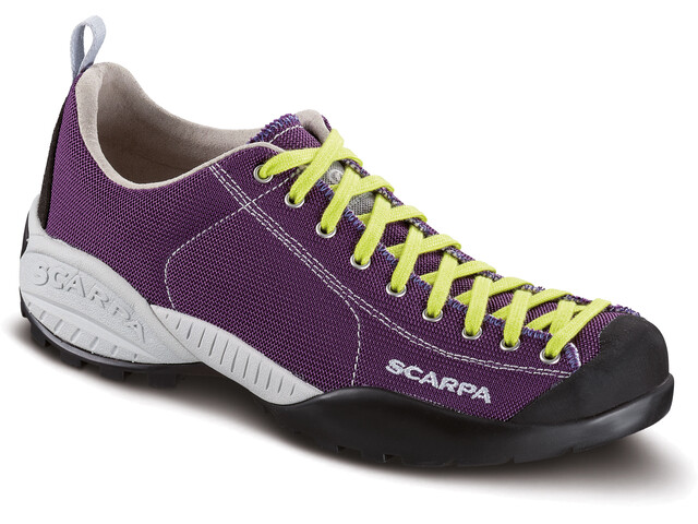 Scarpa W's Mojito Fresh Shoes dark violet-lime